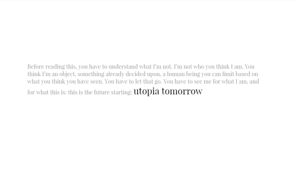 utopia tomorrow le tender sigh utopia tomorrow