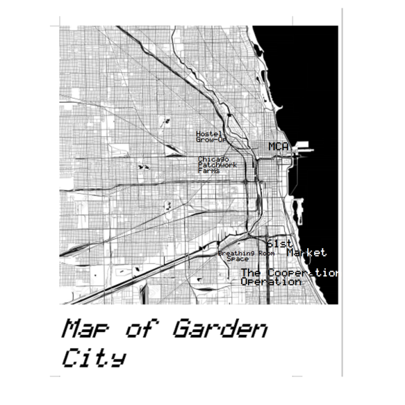 map of garden city square 6